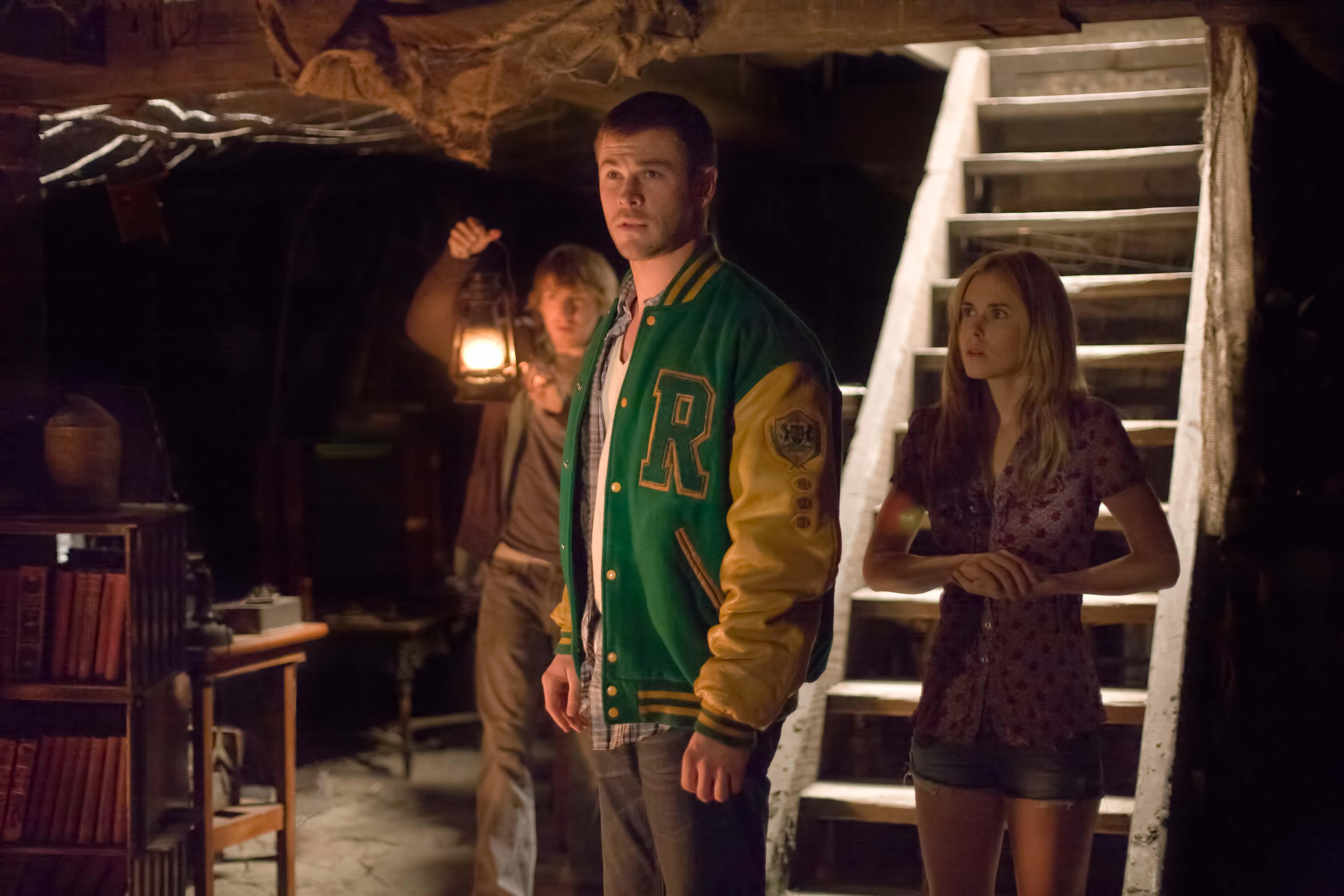 Fotograma de la película La Cabaña en el Bosque