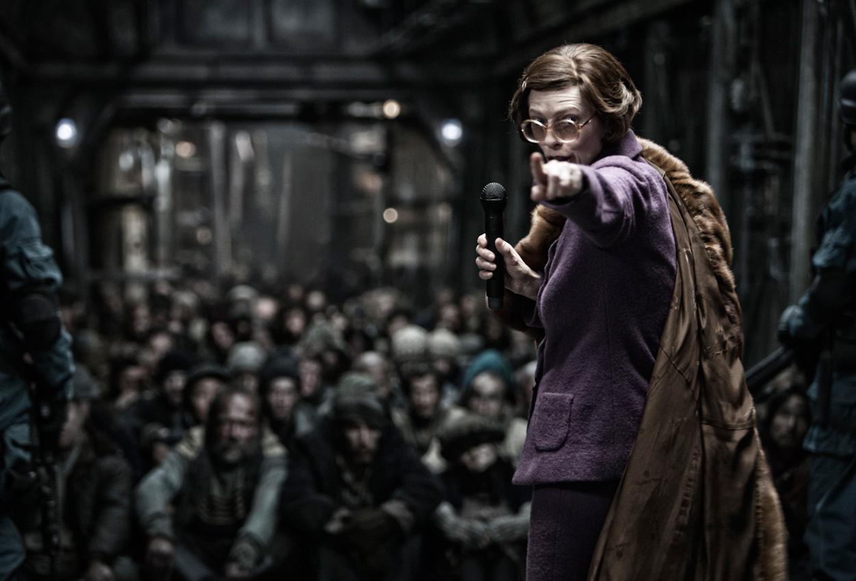 Fotograma de la película Snowpiercer (Rompenieves)