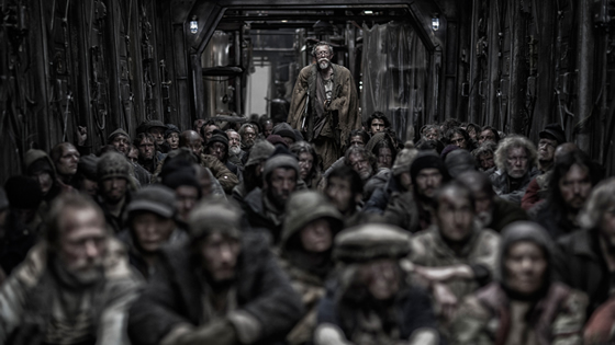 Click en PLAY VIDEO para ver el trailer de Snowpiercer (Rompenieves)