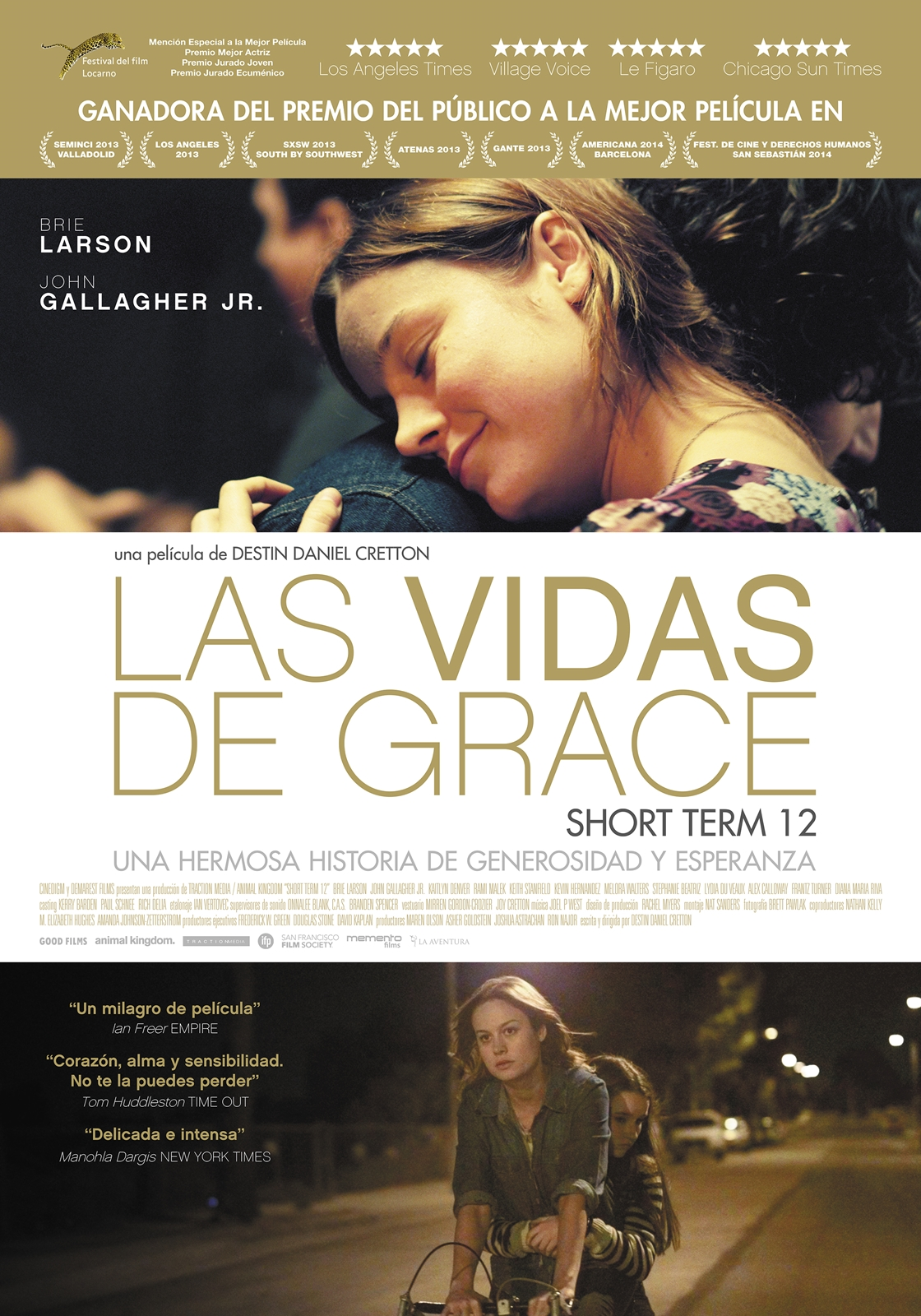 Cartel Las vidas de Grace (Short Term 12)