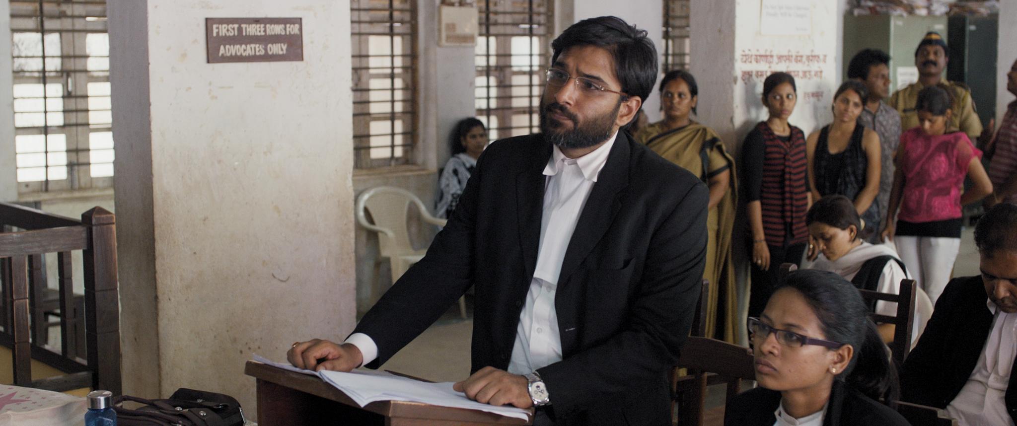Fotograma de la película Tribunal