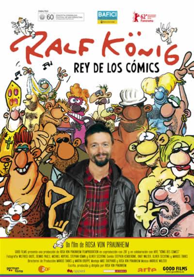 Cartel Ralf König, rey de los cómics