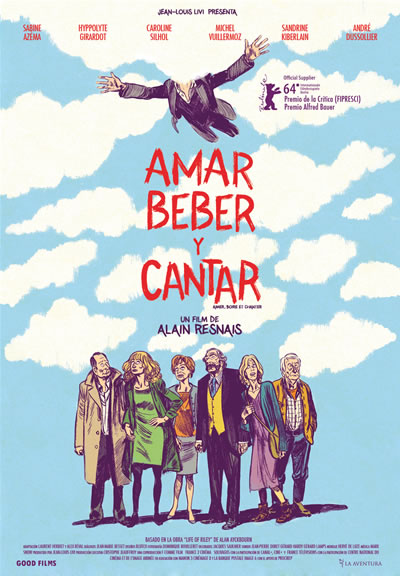 Cartel Amar, beber y cantar