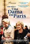 Cartel Una dama en París