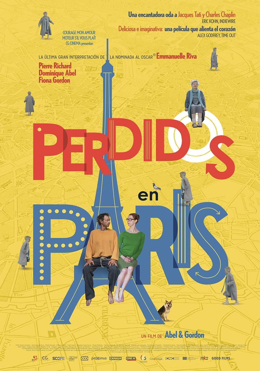 Cartel Perdidos en París