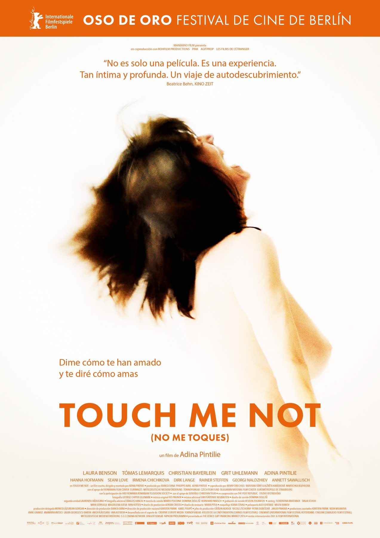 Cartel Touch Me Not (No me toques)