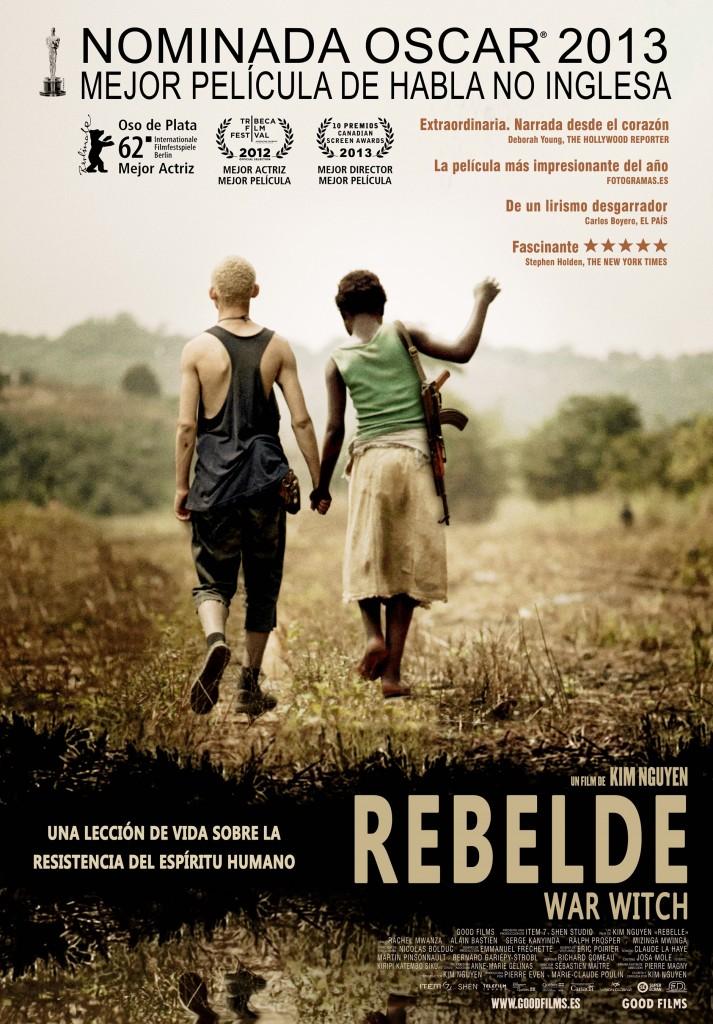 REBELDE (WAR WITCH) de Kim Nguyen