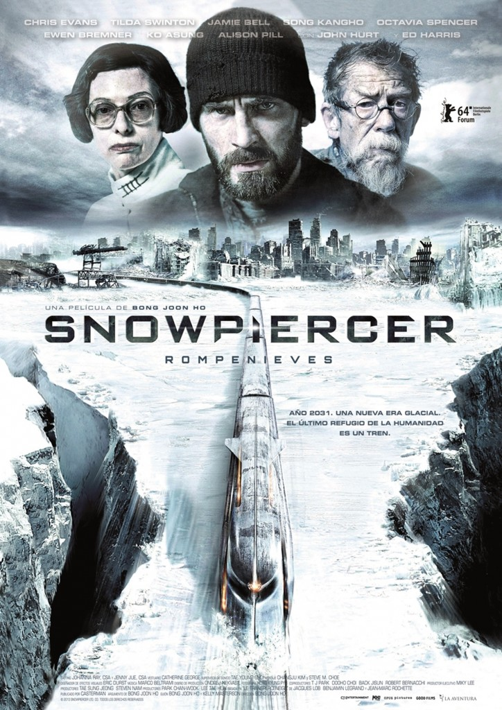 Snowpiercer, obra maestra del cine contemporáneo.