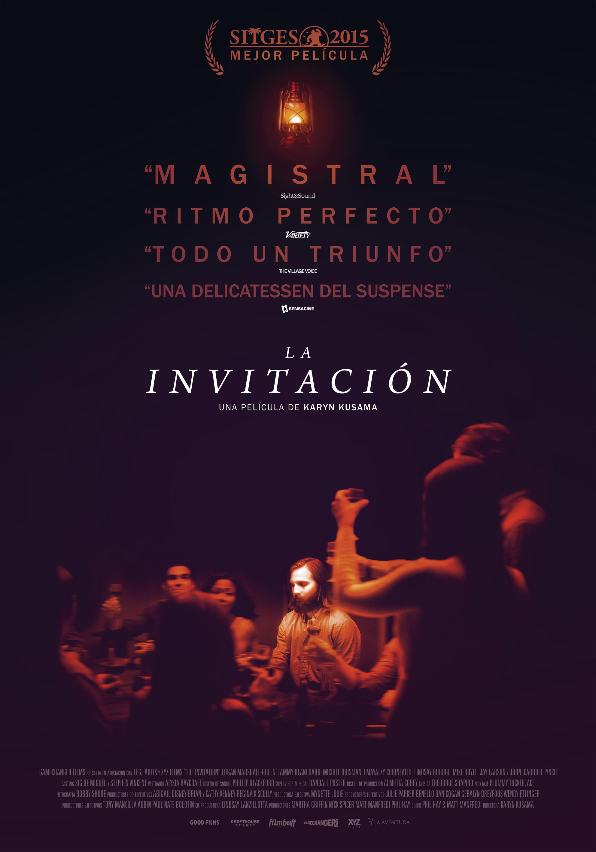 LA INVITACIÓN de Karyn Kusama++Thriller de terror ganador de la Mejor Película Sitges 2015