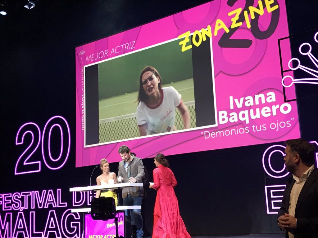Ivana Baquero Mejor Actriz Festival Málaga 2017