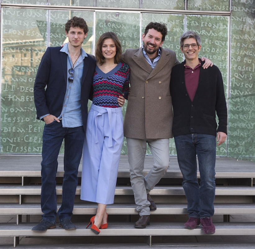 Equipo DEMONIOS TUS OJOS Festival Málaga 2017